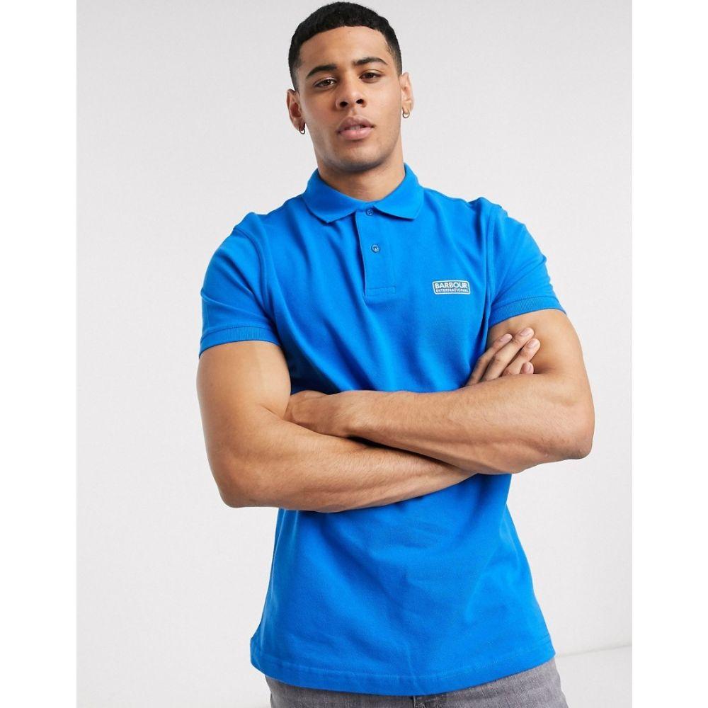 バブアー Barbour International メンズ ポロシャツ トップス【Essential polo in blue】Blue