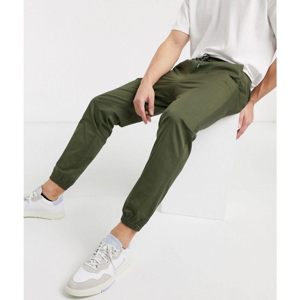 ジャック アンド ジョーンズ Jack & Jones メンズ ボトムス・パンツ 【Intelligence organic cotton cuffed trousers in khaki】Olive night