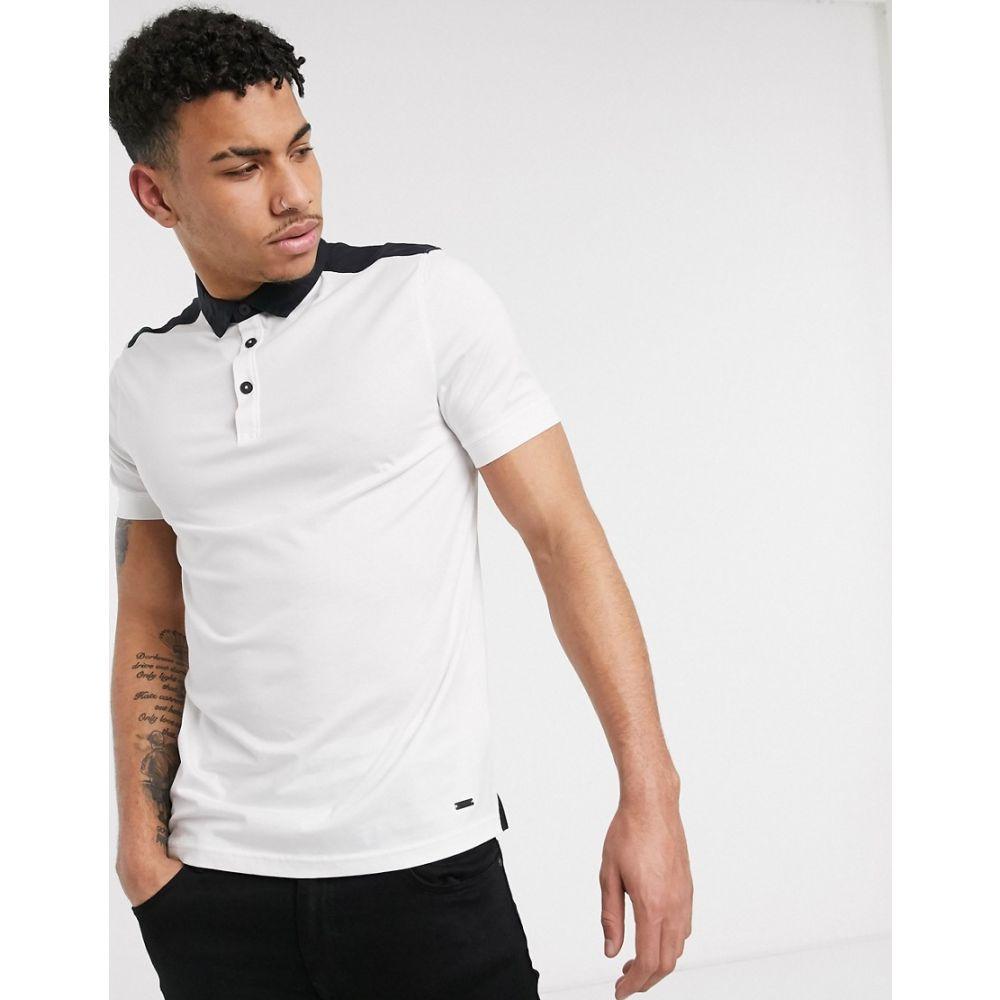 ヒューゴ ボス BOSS メンズ ポロシャツ トップス【Pickout polo shirt】White