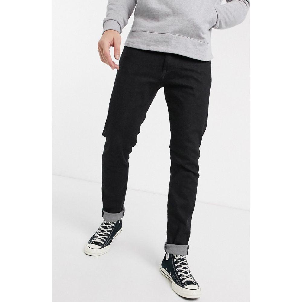 エドウィン Edwin メンズ ジーンズ・デニム ボトムス・パンツ【ED85 skinny fit jeans in black denim】Black rinsed