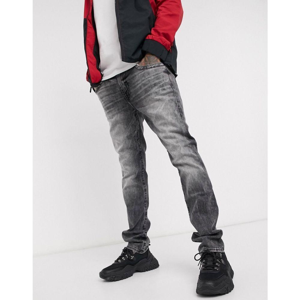 トゥルー レリジョン True Religion メンズ ジーンズ・デニム ボトムス・パンツ【Rocco skinny jeans】Grey