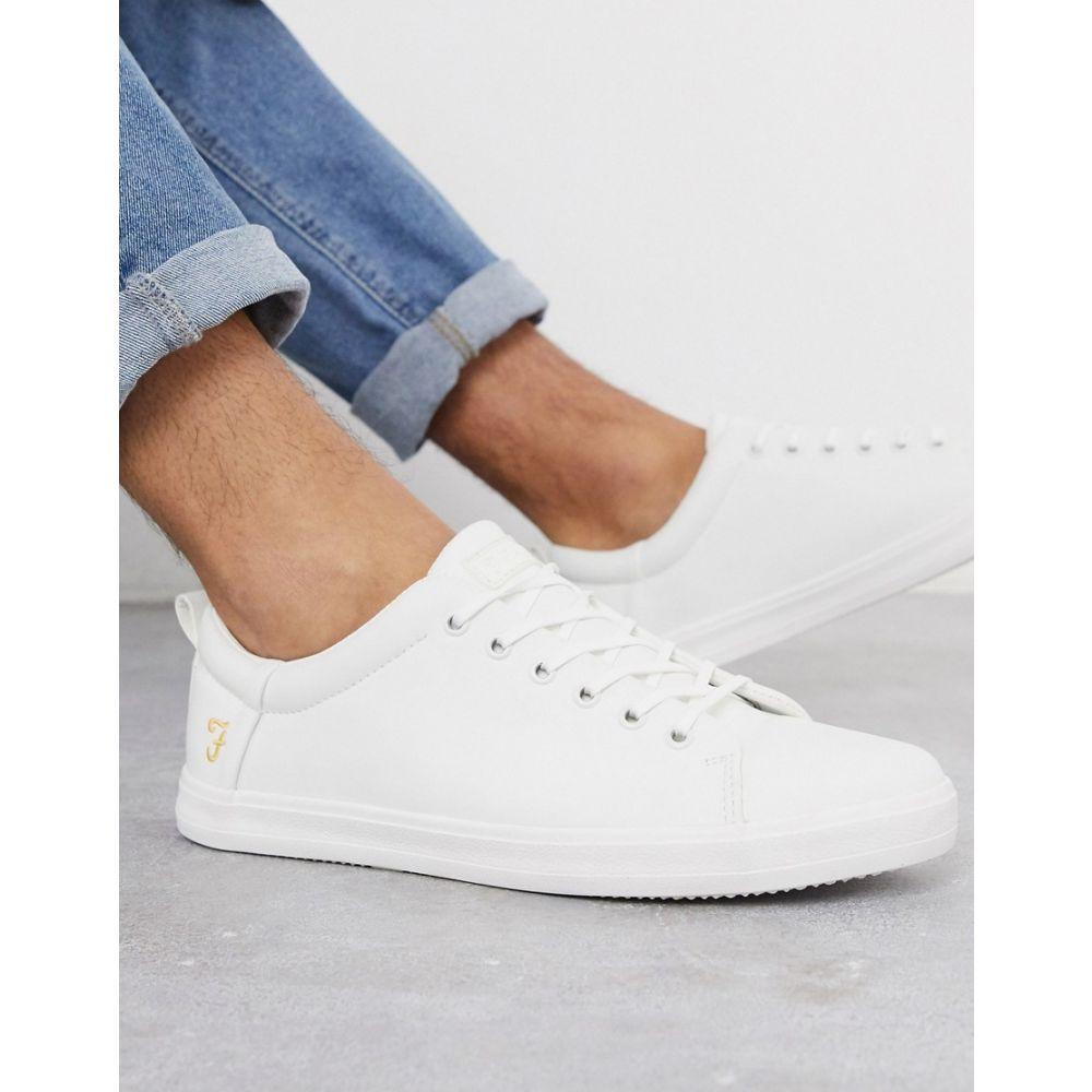 ファーラー Farah メンズ スニーカー シューズ・靴【canvas trainer in all white】White
