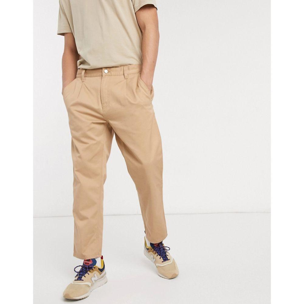 カーハート Carhartt WIP メンズ ボトムス・パンツ 【Abbott pant in tan】Dusty h brown
