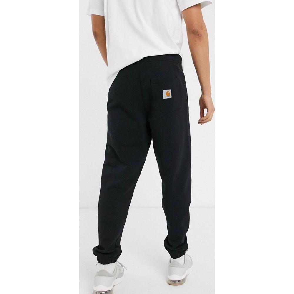 カーハート Carhartt WIP メンズ ジョガーパンツ ボトムス・パンツ【Pocket sweat pant in black】Black