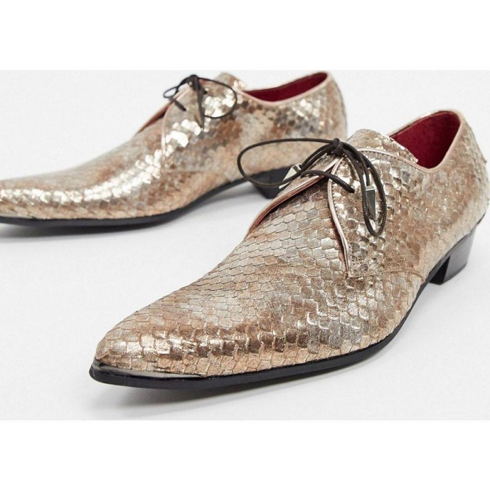 ジェフリー ウエスト Jeffery West メンズ シューズ・靴 【adamant shoe in gold snake】Gold