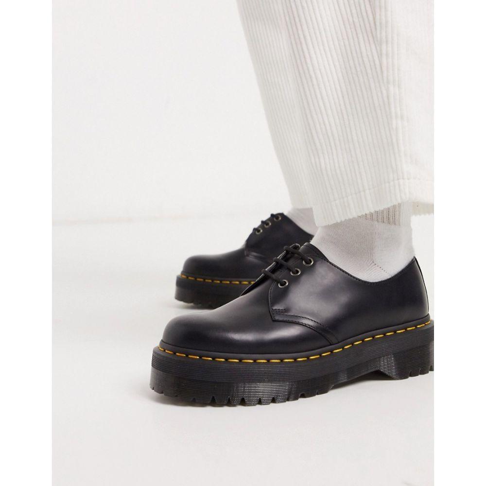 ドクターマーチン Dr Martens メンズ シューズ・靴 【1461 quad 3 eye shoes in black】Black