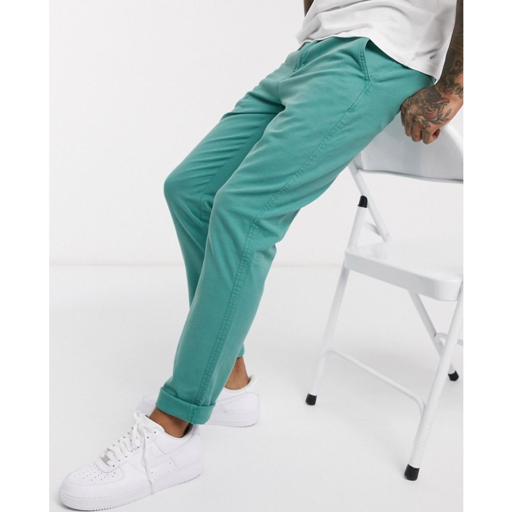 リーバイス Levi's メンズ チノパン ボトムス・パンツ【slim tapered fit chinos in jade blue shady wash】Jade blue shady