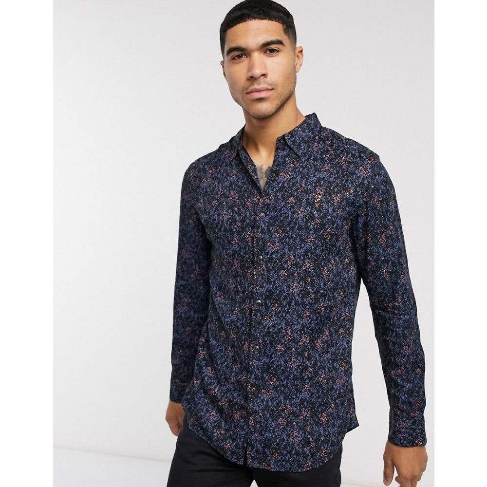ファーラー Farah メンズ シャツ トップス【Blackstar long sleeve shirt】Black