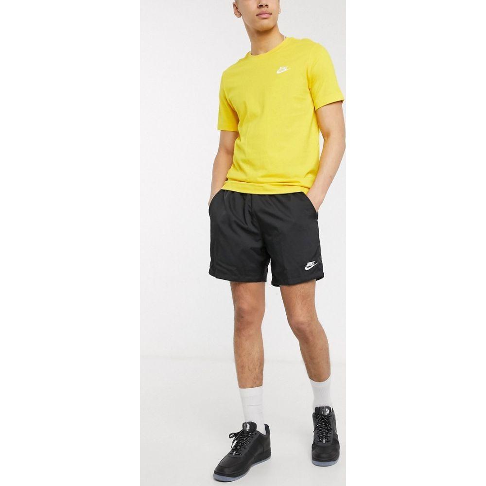 ナイキ Nike メンズ ショートパンツ ボトムス・パンツ【Club Essentials woven shorts in black】Black