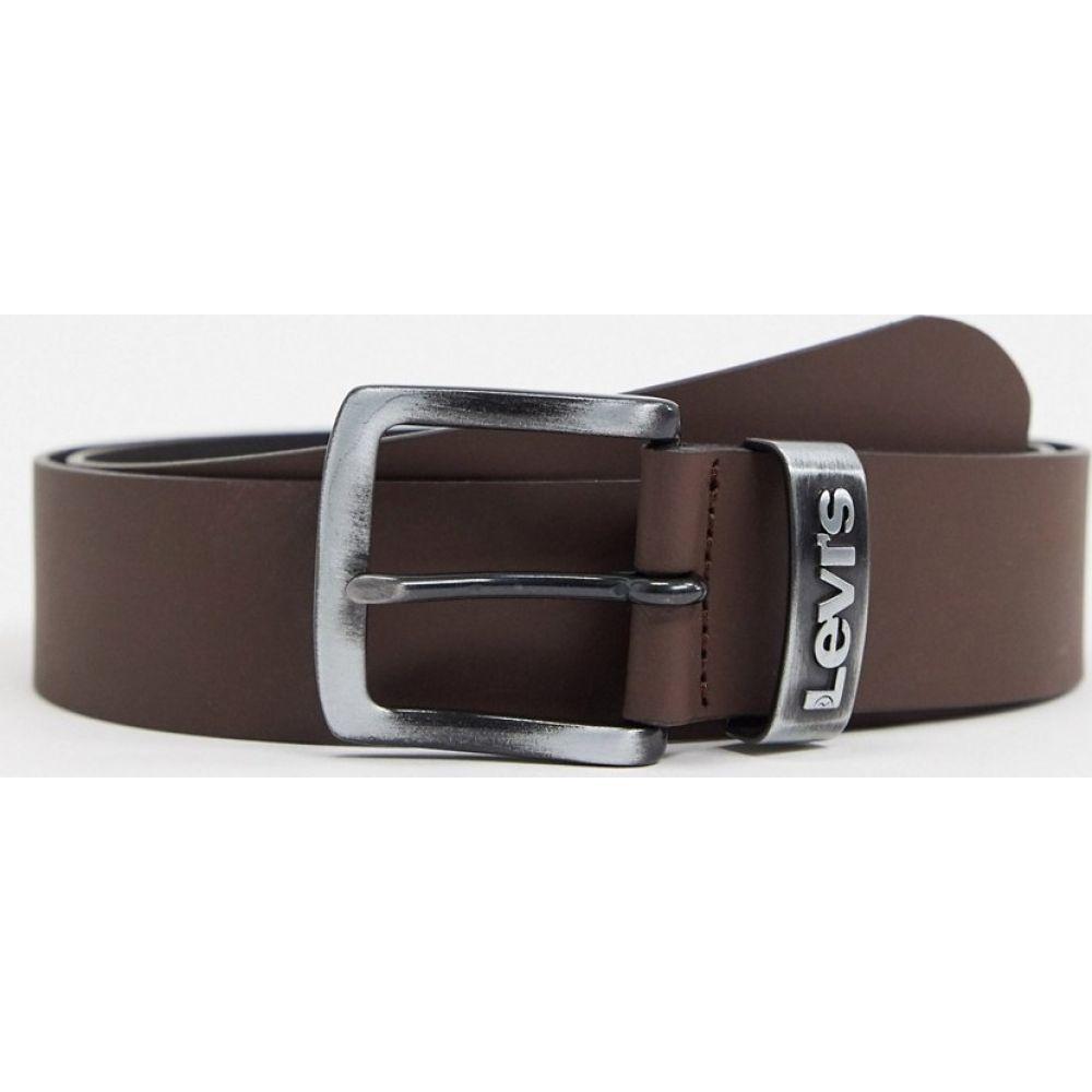 リーバイス Levi's メンズ ベルト 【pilchuck belt in brown】Brown
