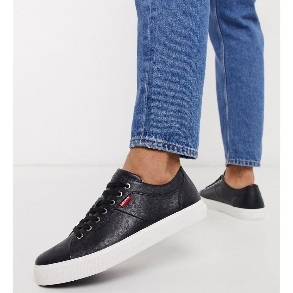 リーバイス Levi's メンズ スニーカー シューズ・靴【woodward trainers in black】Black