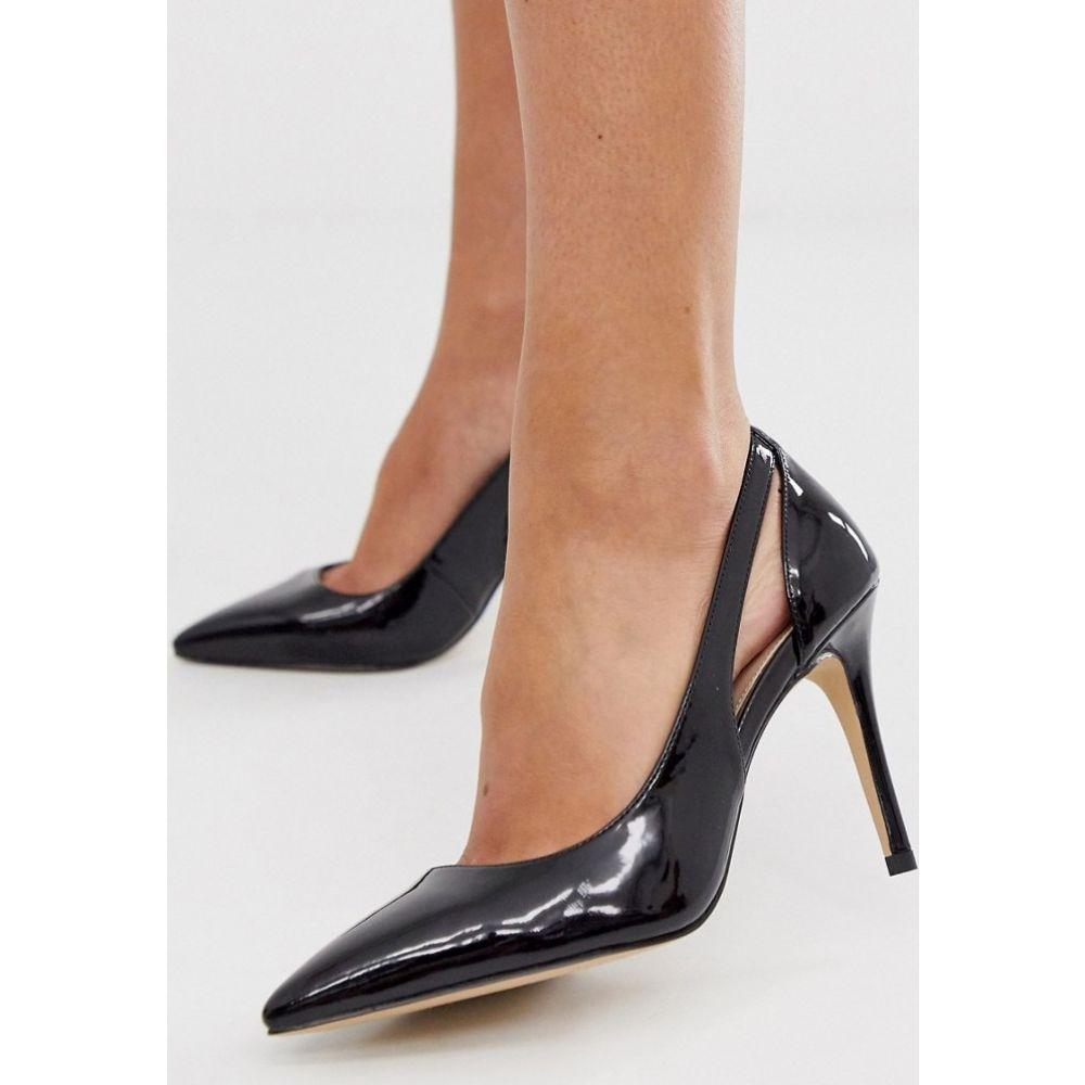 カーベラ Carvela レディース パンプス シューズ・靴【side cut out court shoe in black】Black