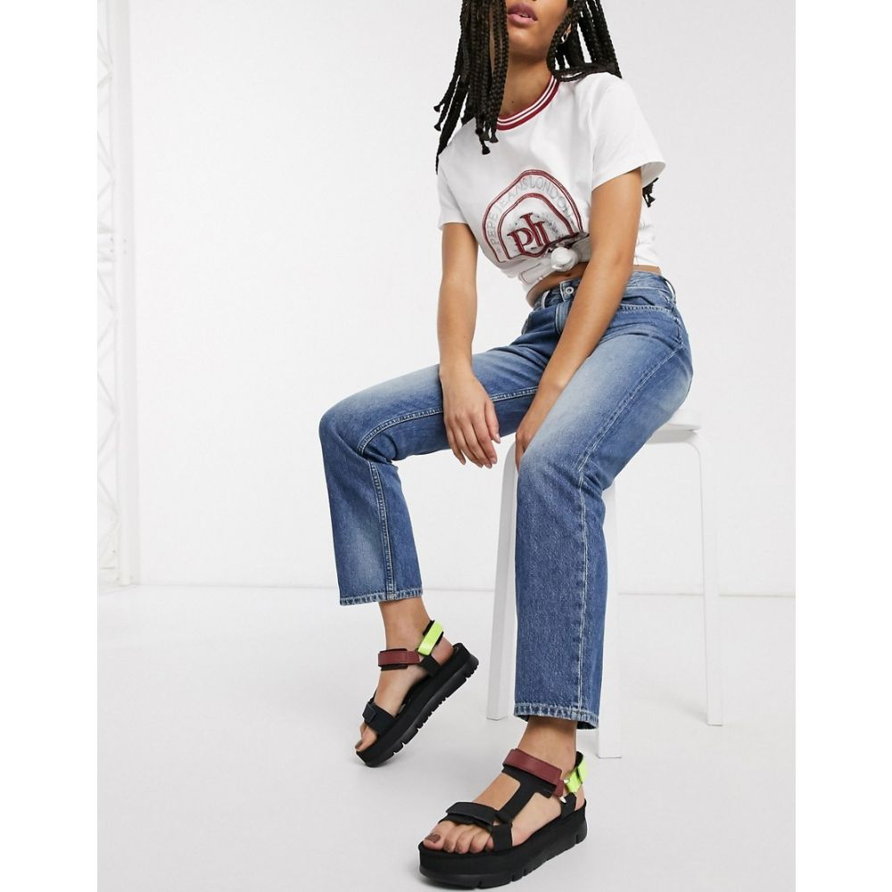 ペペジーンズ Pepe Jeans レディース ジーンズ・デニム ボトムス・パンツ【Pepe Mary striaght leg jeans in blue light wash】Denim