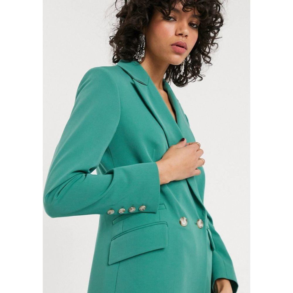 トップショップ Topshop レディース スーツ・ジャケット アウター【blazer in mint co-ord】Green