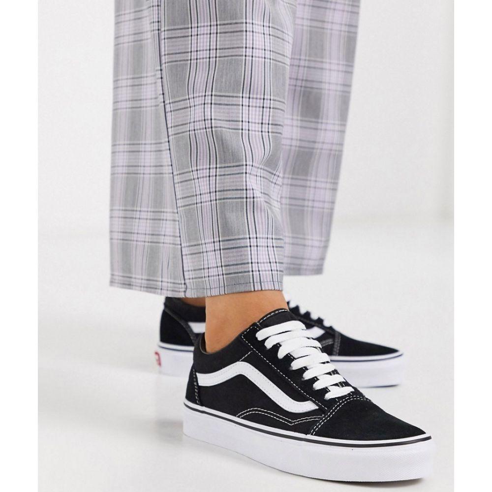 ヴァンズ Vans レディース スニーカー シューズ・靴【Classic Old Skool black trainers】Black