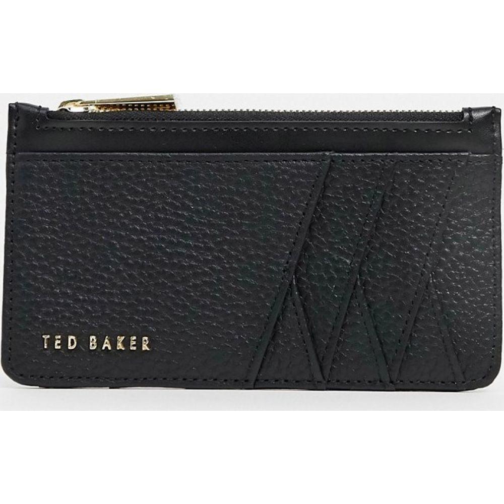 テッドベーカー Ted Baker レディース カードケース・名刺入れ カードホルダー【bow detail card holder】Black