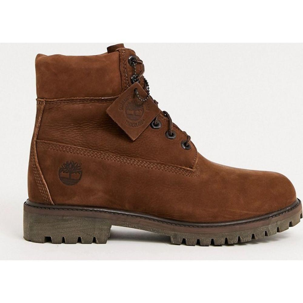 ティンバーランド Timberland メンズ ブーツ シューズ・靴【6 premim boots in light brown nubuck】Brown