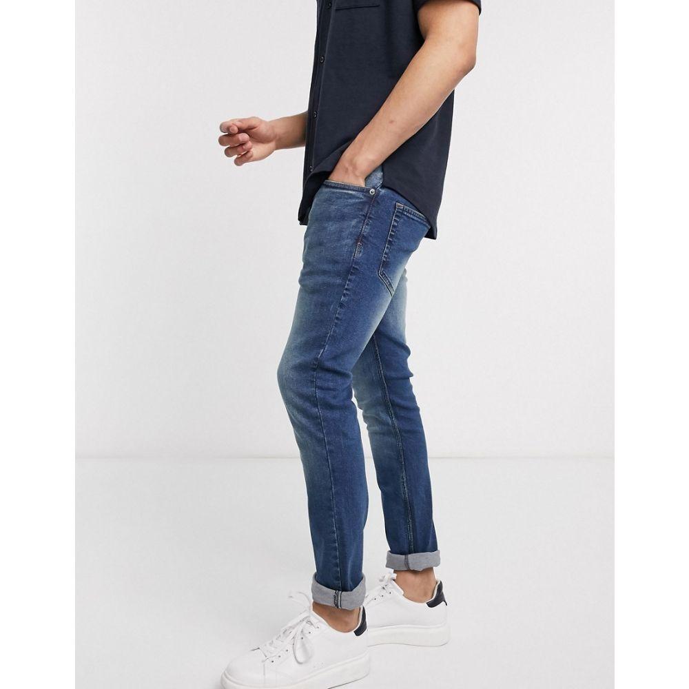 フレンチコネクション French Connection メンズ ジーンズ・デニム ボトムス・パンツ【slim fit jeans】Blue