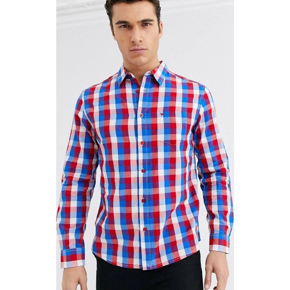 ラングラー Wrangler メンズ シャツ トップス【buffalo check shirt in multi】Multi