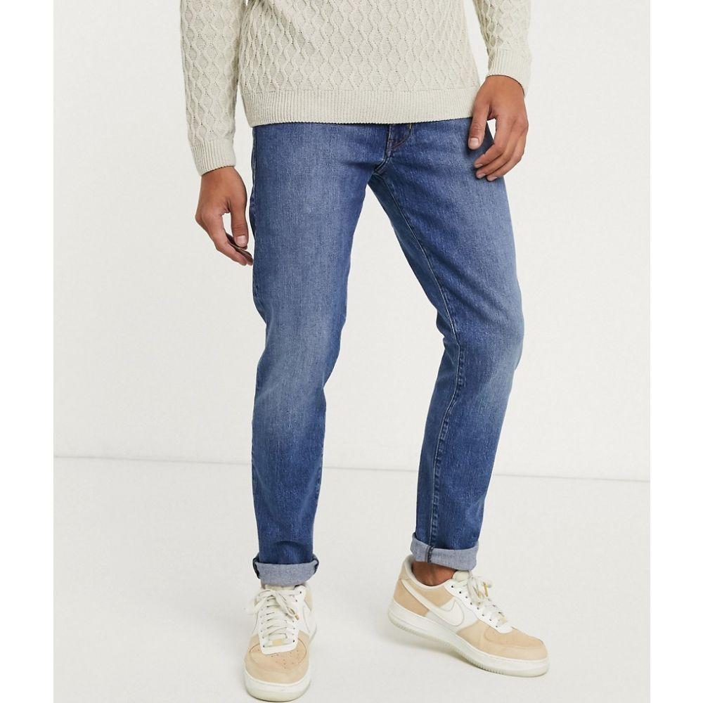 ラングラー Wrangler メンズ ジーンズ・デニム ボトムス・パンツ【Larston slim tapered jeans】Washed blue