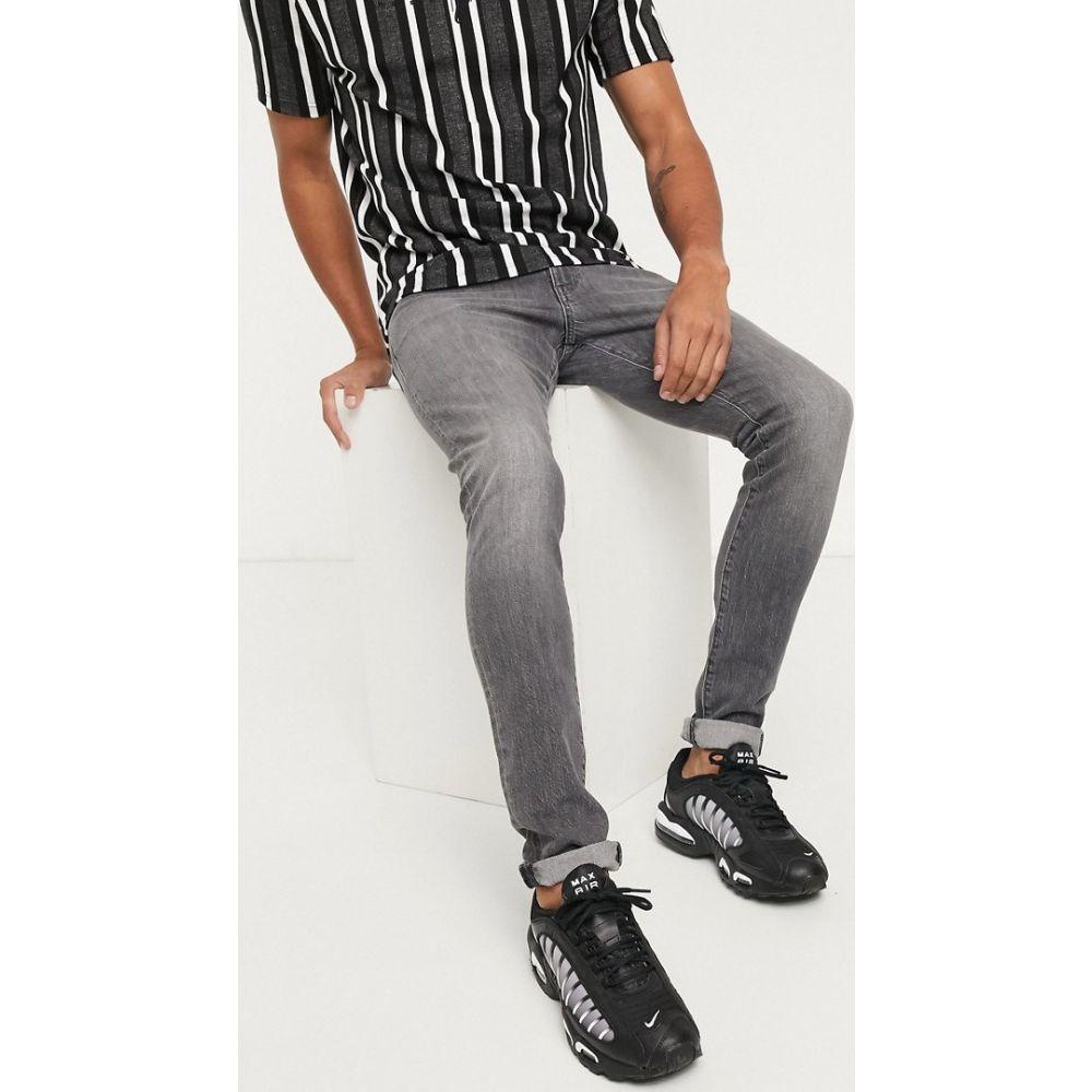ラングラー Wrangler メンズ ジーンズ・デニム ボトムス・パンツ【Bryson skinny jeans in grey】Grey
