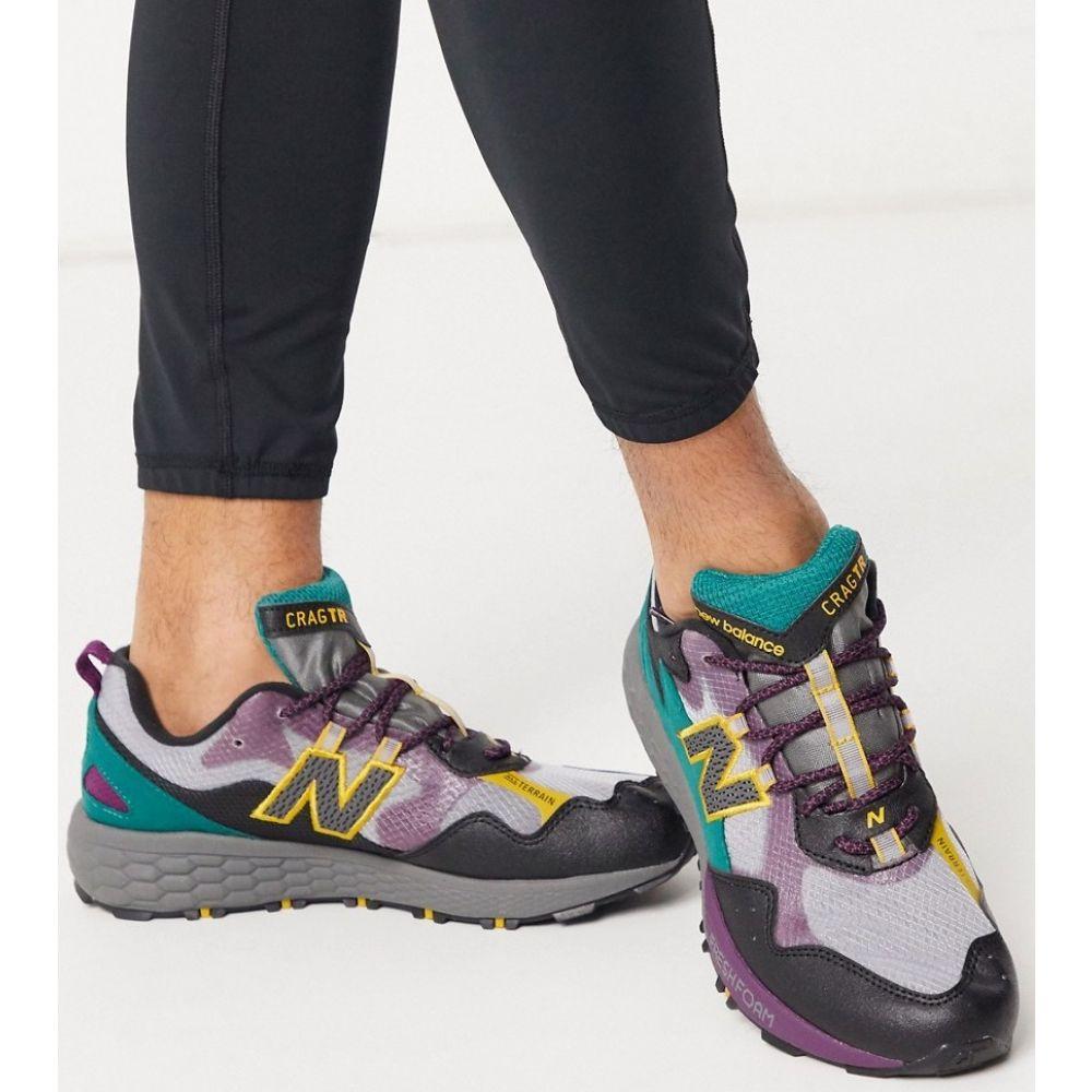 ニューバランス New Balance メンズ ランニング・ウォーキング シューズ・靴【Running Trail Crag trainers in grey】Grey