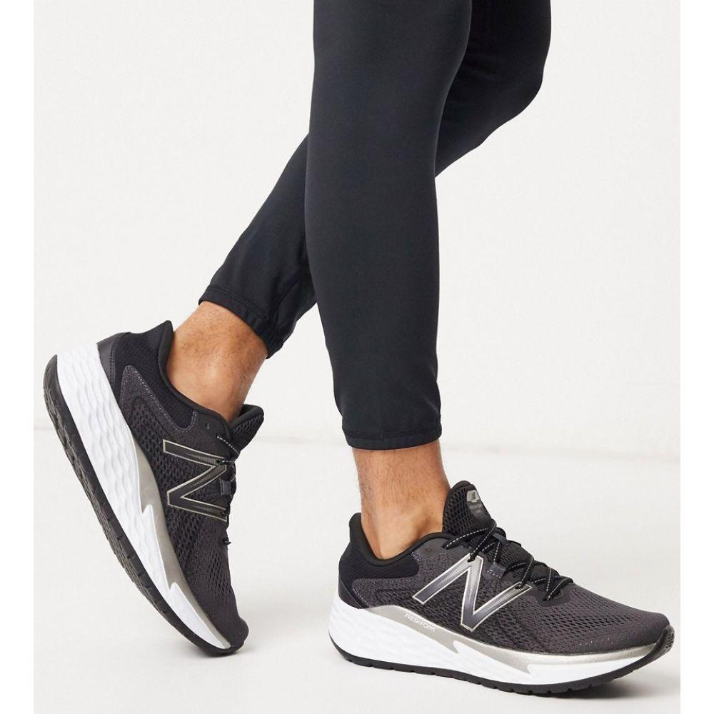 ニューバランス New Balance メンズ ランニング・ウォーキング シューズ・靴【Running Freshfoam Evare trainers in black】Black