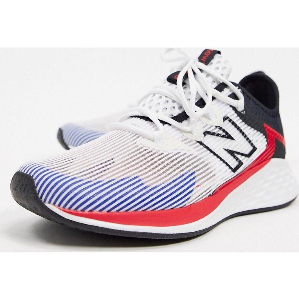 ニューバランス New Balance メンズ ランニング・ウォーキング シューズ・靴【Running Roav Haze trainers in white】White