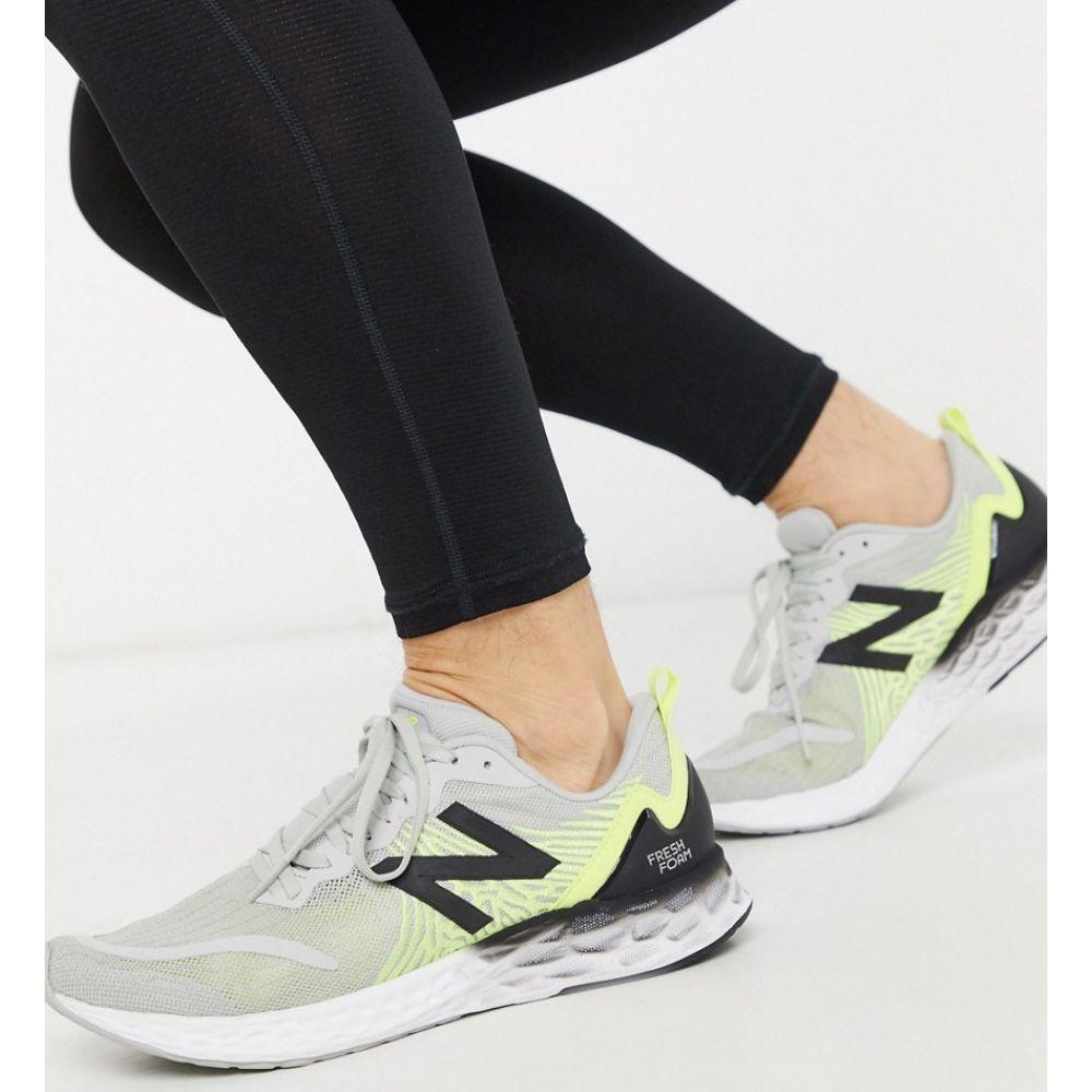 ニューバランス New Balance メンズ ランニング・ウォーキング シューズ・靴【Running Freshfoam Tempo trainers in grey】Grey