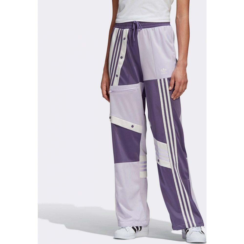 アディダス adidas Originals レディース スウェット・ジャージ ボトムス・パンツ【x Danielle Cathari track bottoms in purple】Tech purple