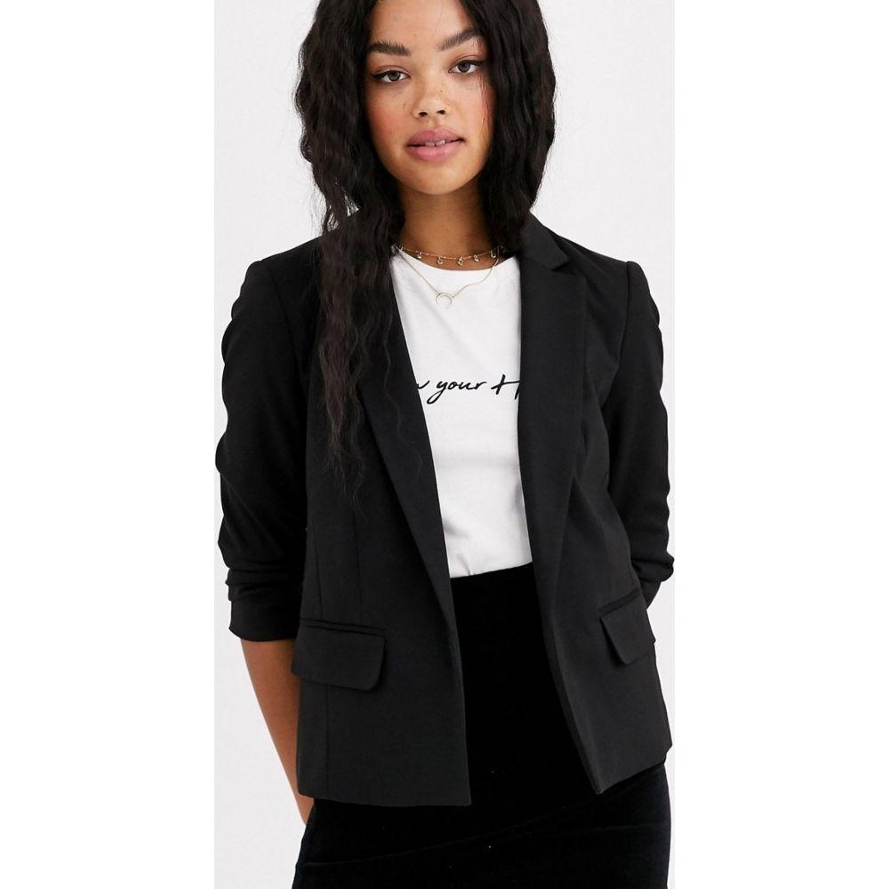 ミス セルフリッジ Miss Selfridge レディース スーツ・ジャケット アウター【blazer in black】Black