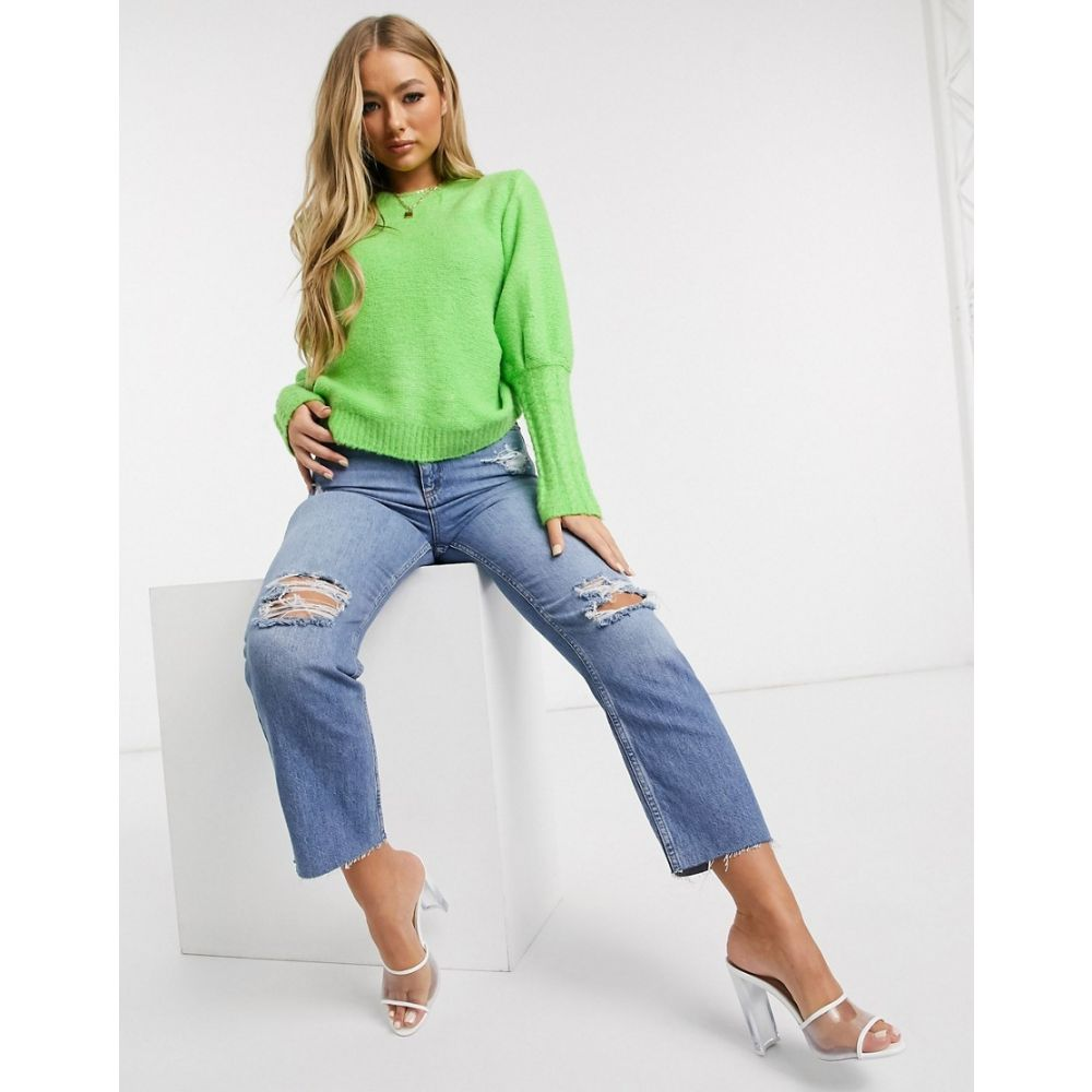 ネバーフリードレス Never Fully Dressed レディース ニット・セーター トップス【Becky jumper in green】Green