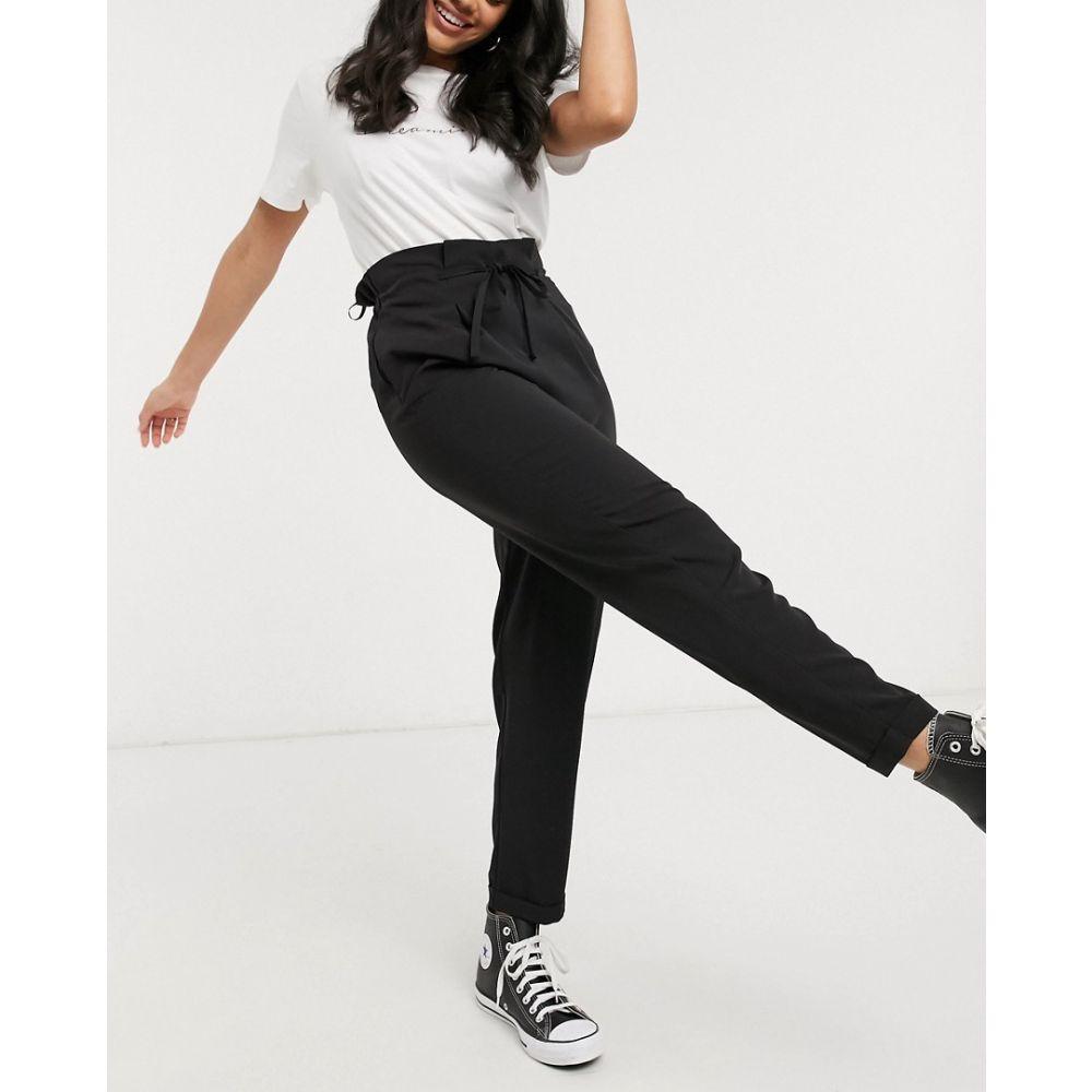 ミス セルフリッジ Miss Selfridge レディース ジョガーパンツ ボトムス・パンツ【drawstring jogger in black】Black