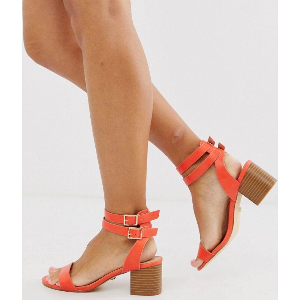 オアシス Oasis レディース サンダル・ミュール シューズ・靴【block heel sandals】Orange