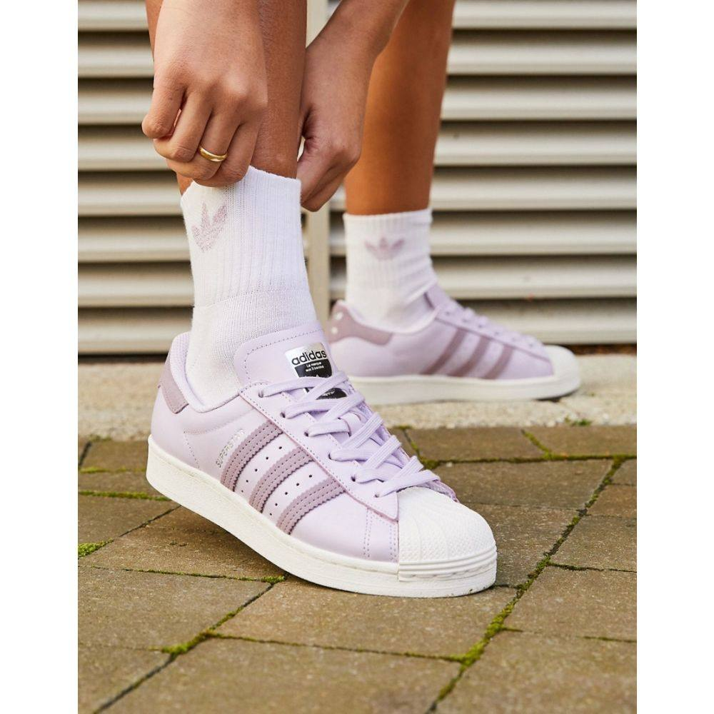 アディダス adidas Originals レディース スニーカー シューズ・靴【International Day Superstar trainers in lilac】Purple
