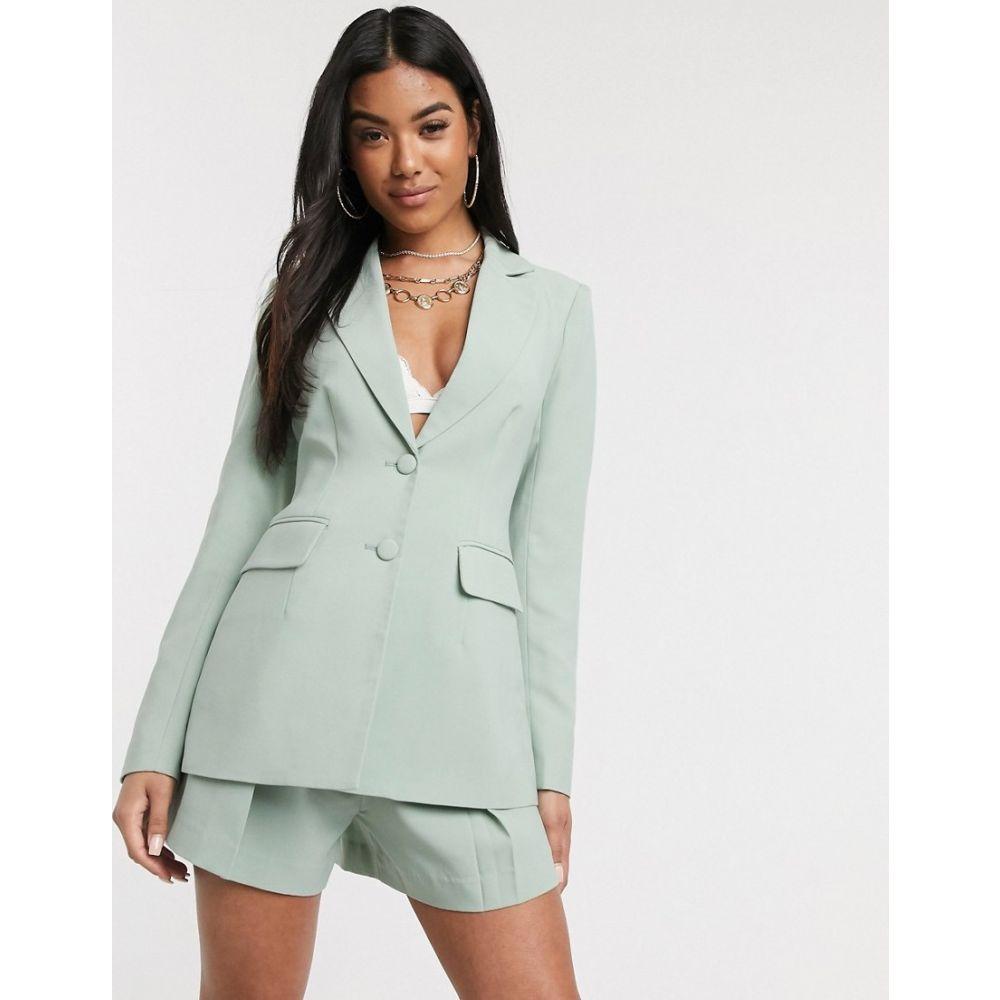フォース&レックレス 4th + Reckless レディース スーツ・ジャケット アウター【4th & Reckless fitted blazer in mint】Mint