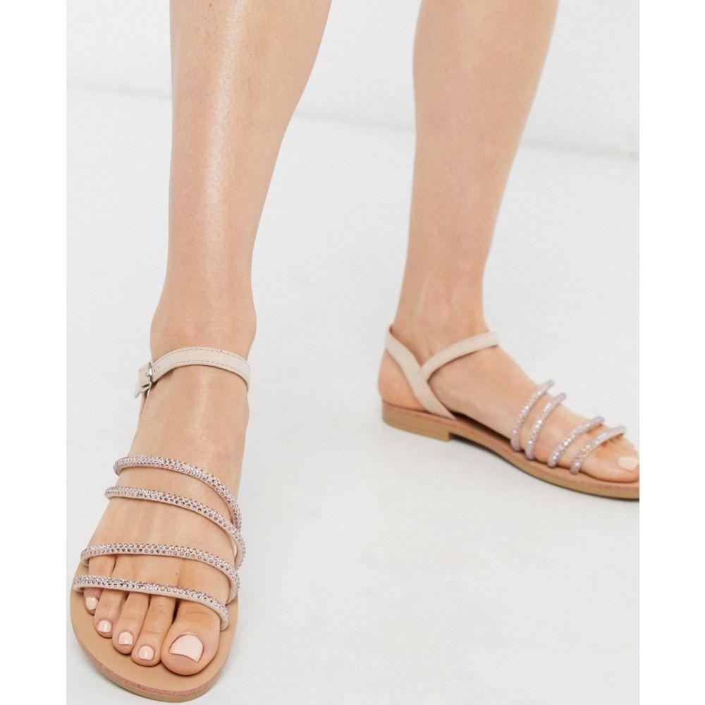 ミス セルフリッジ Miss Selfridge レディース サンダル・ミュール シューズ・靴【embellished sandals in pink】Pink