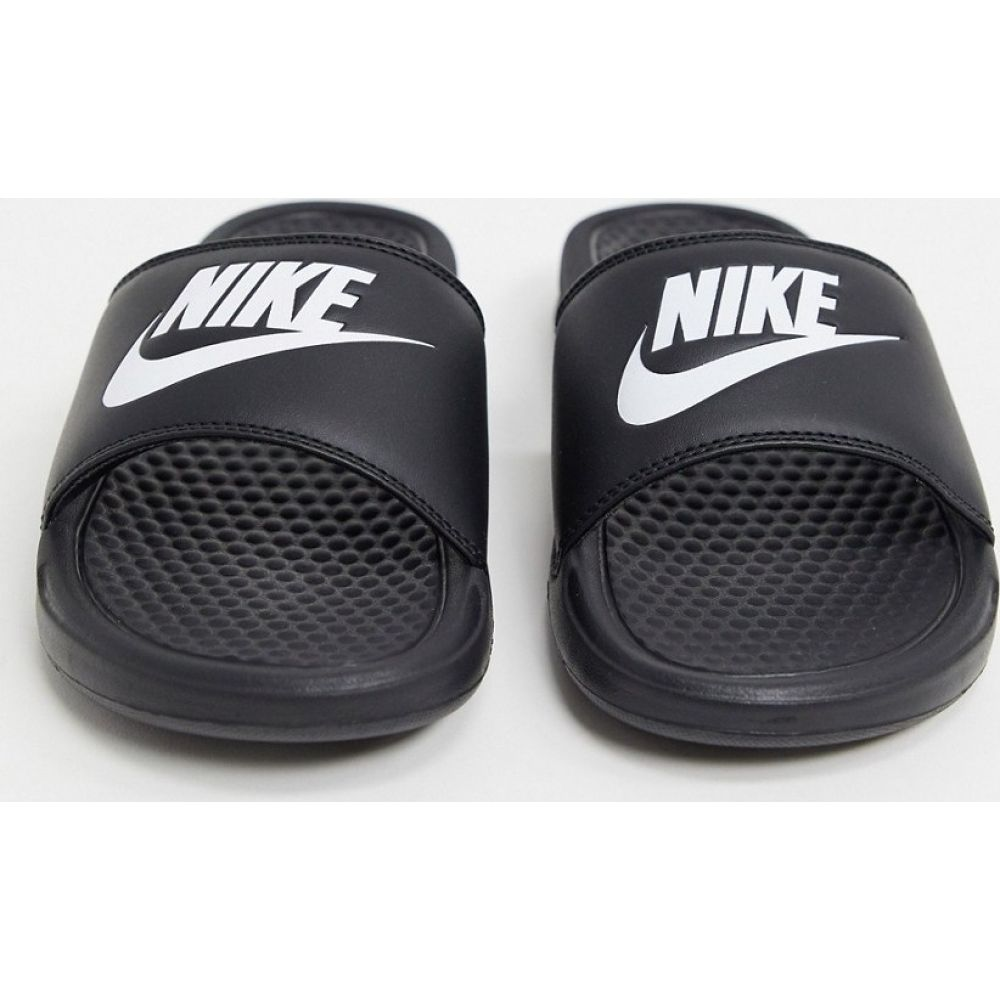 ナイキ Nike レディース サンダル・ミュール シューズ・靴【Benassi sliders in black】Black