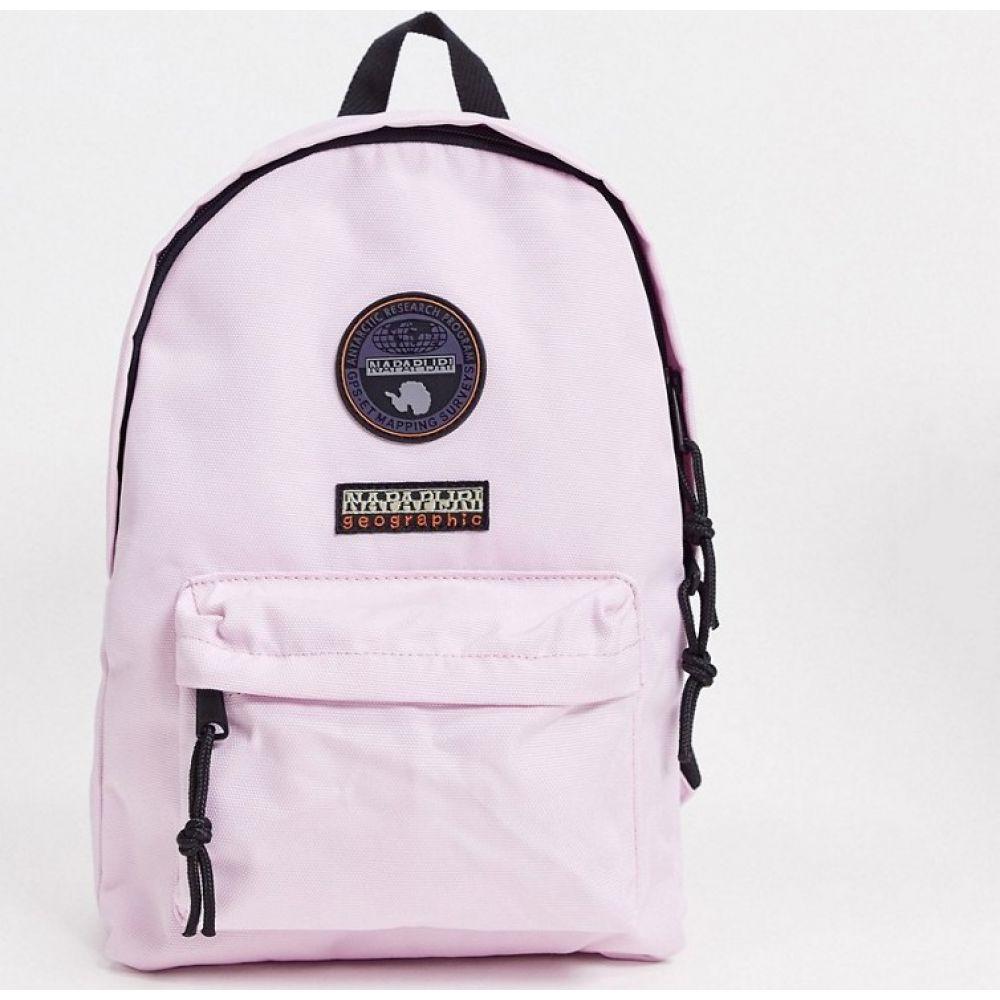 ナパピリ Napapijri レディース バックパック・リュック バッグ【Voyage mini backpack in light pink】Pink