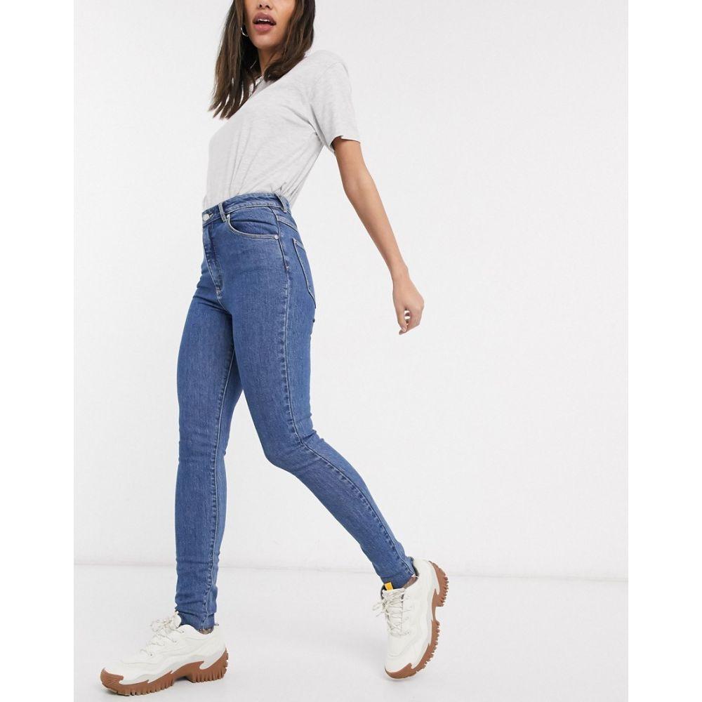 エーブランド Abrand Denim レディース ジーンズ・デニム ボトムス・パンツ【Abrand high rise skinny jeans in darkwash blue】Inner city
