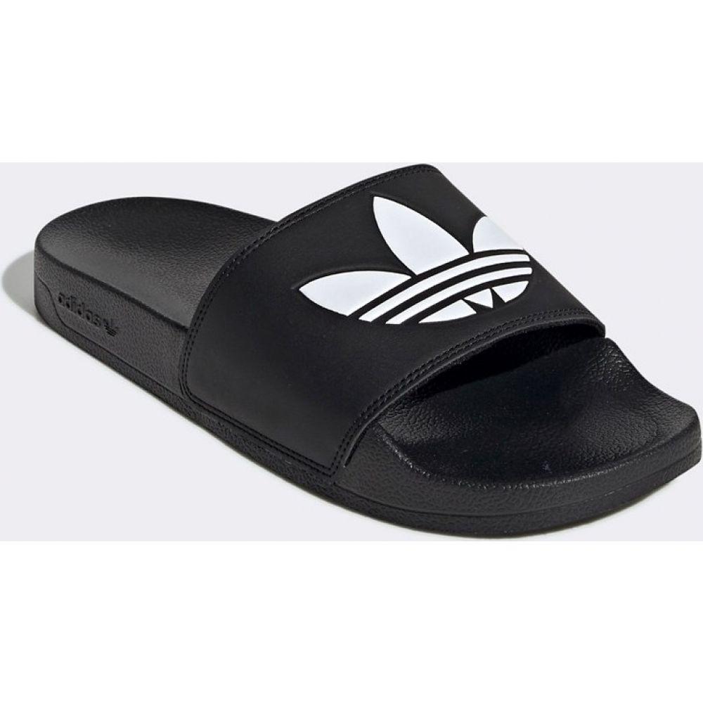 アディダス adidas Originals レディース サンダル・ミュール シューズ・靴【adilette Lite in black】Black