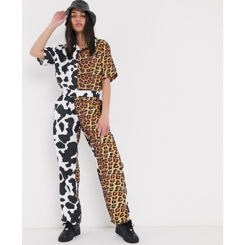 チャイナタウンマケット Chinatown Market レディース ボトムス・パンツ 【mixed animal print trousers co-ord】Multi