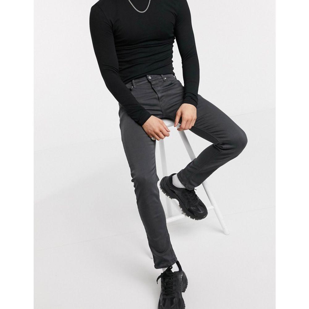 リプレイ Replay メンズ ジーンズ・デニム ボトムス・パンツ【Jondrill hyperflex skinny jeans in blackboard】Black