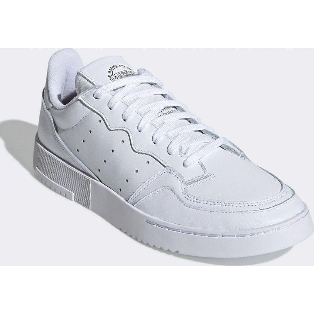 アディダス adidas Originals レディース スニーカー シューズ・靴【Supercourt trainers in white】White