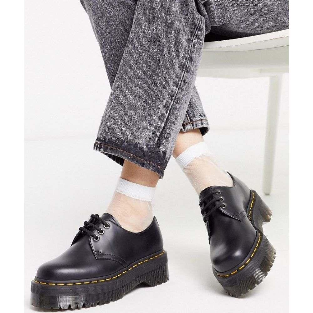 ドクターマーチン Dr Martens レディース シューズ・靴 チャンキーヒール【1461 Quad chunky shoe】Black
