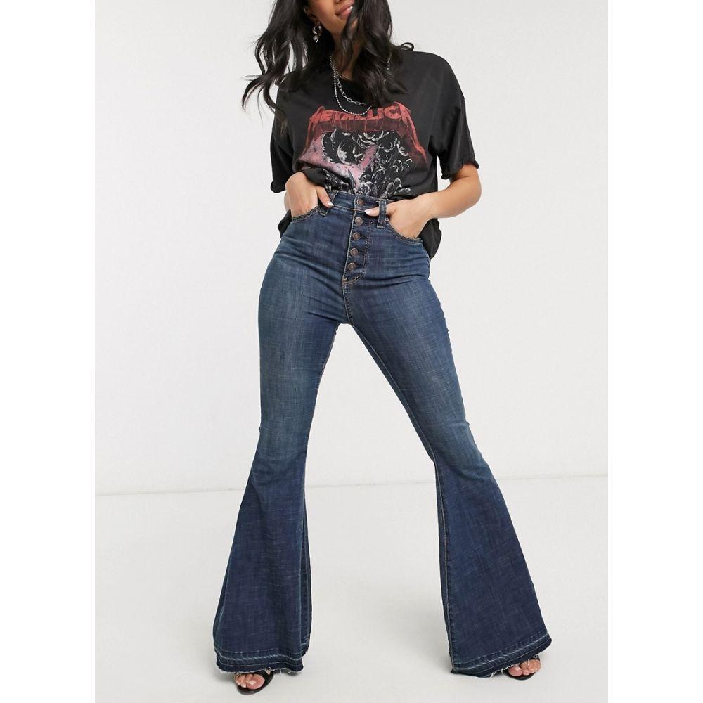 フリーピープル Free People レディース ジーンズ・デニム ボトムス・パンツ【irreplaceable flare jeans】Blue