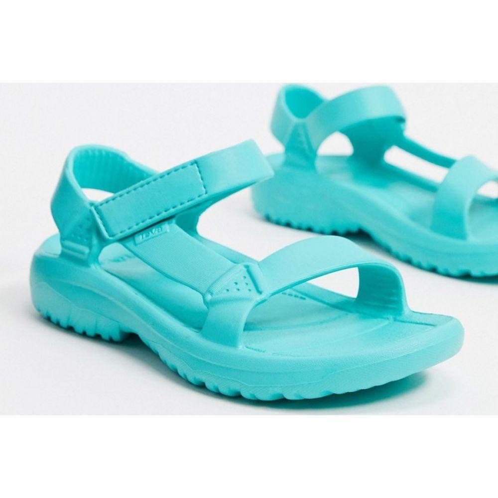 テバ Teva レディース サンダル・ミュール シューズ・靴【Hurricane Drift sandals in turquoise】Waterfall