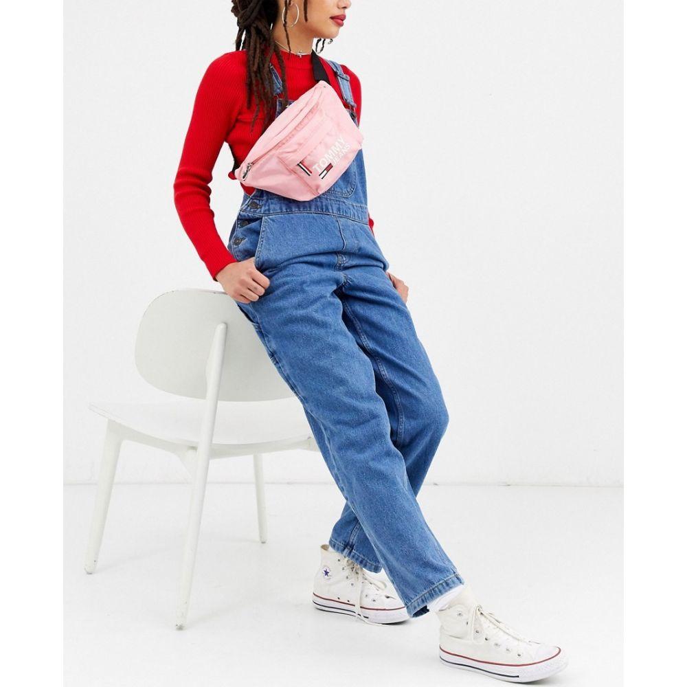 トミー ジーンズ Tommy Jeans レディース ボディバッグ・ウエストポーチ バッグ【city bumbag】Pink icing