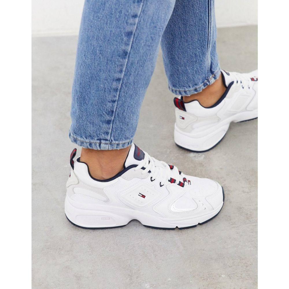 トミー ジーンズ Tommy Jeans レディース スニーカー シューズ・靴【heritage trainer】Navy/white