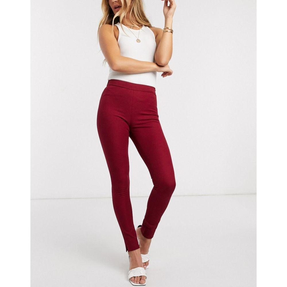 フレンチコネクション French Connection レディース スキニー・スリム ボトムス・パンツ【kara twill skinny trousers】Rosso red